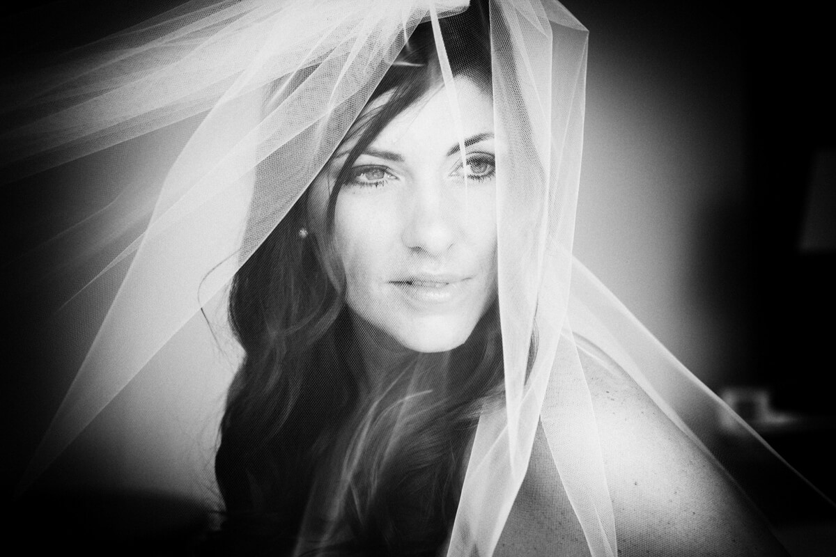 Dramatic Bride's Portrait