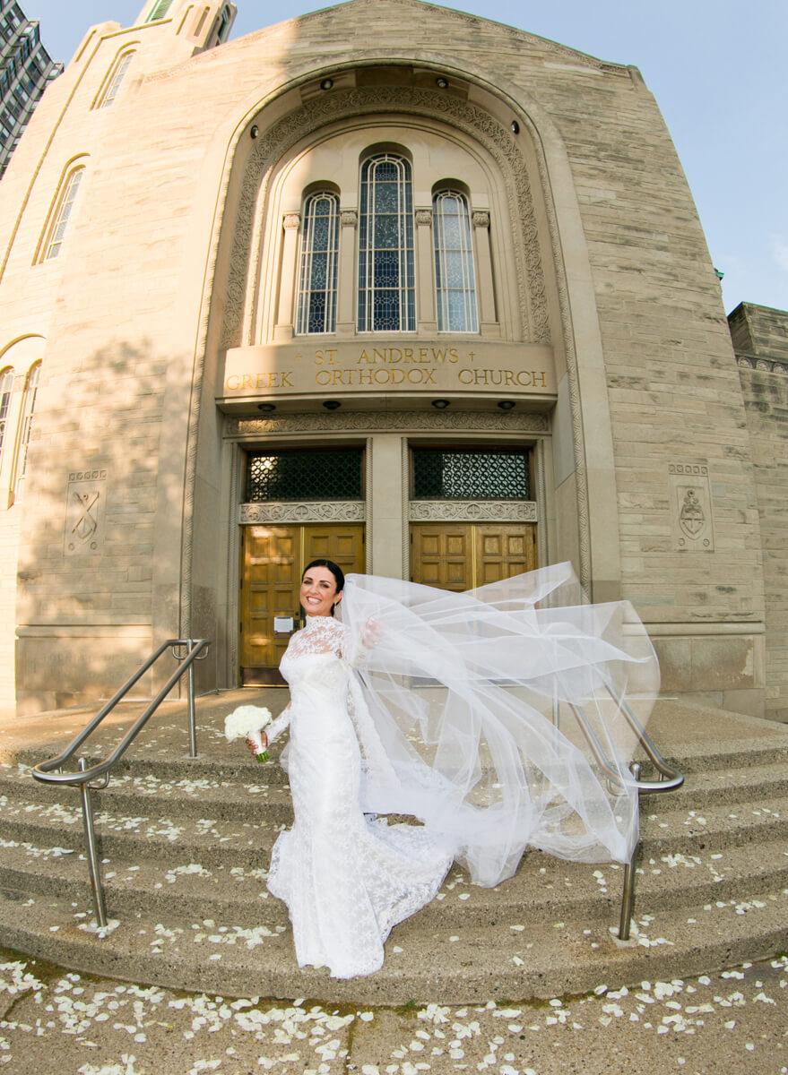 Jenni Poulos wedding portrait