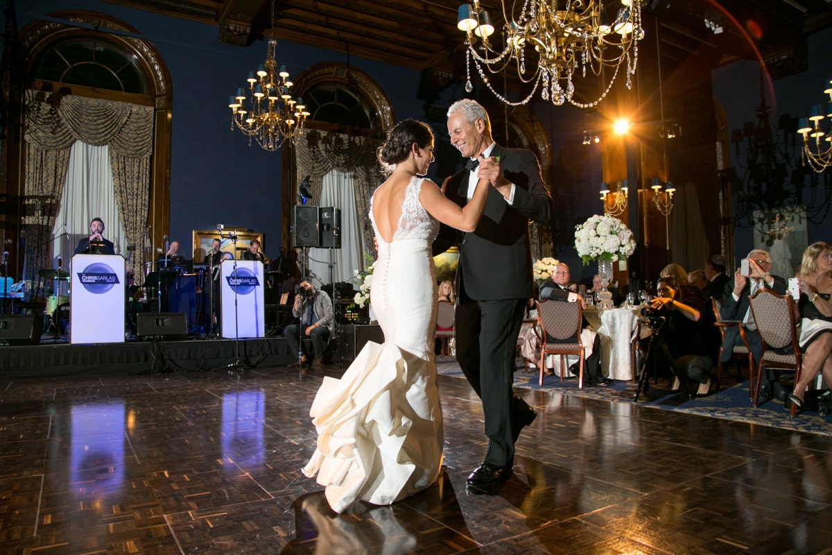 Father Daughter dance at Union League Club Chicago