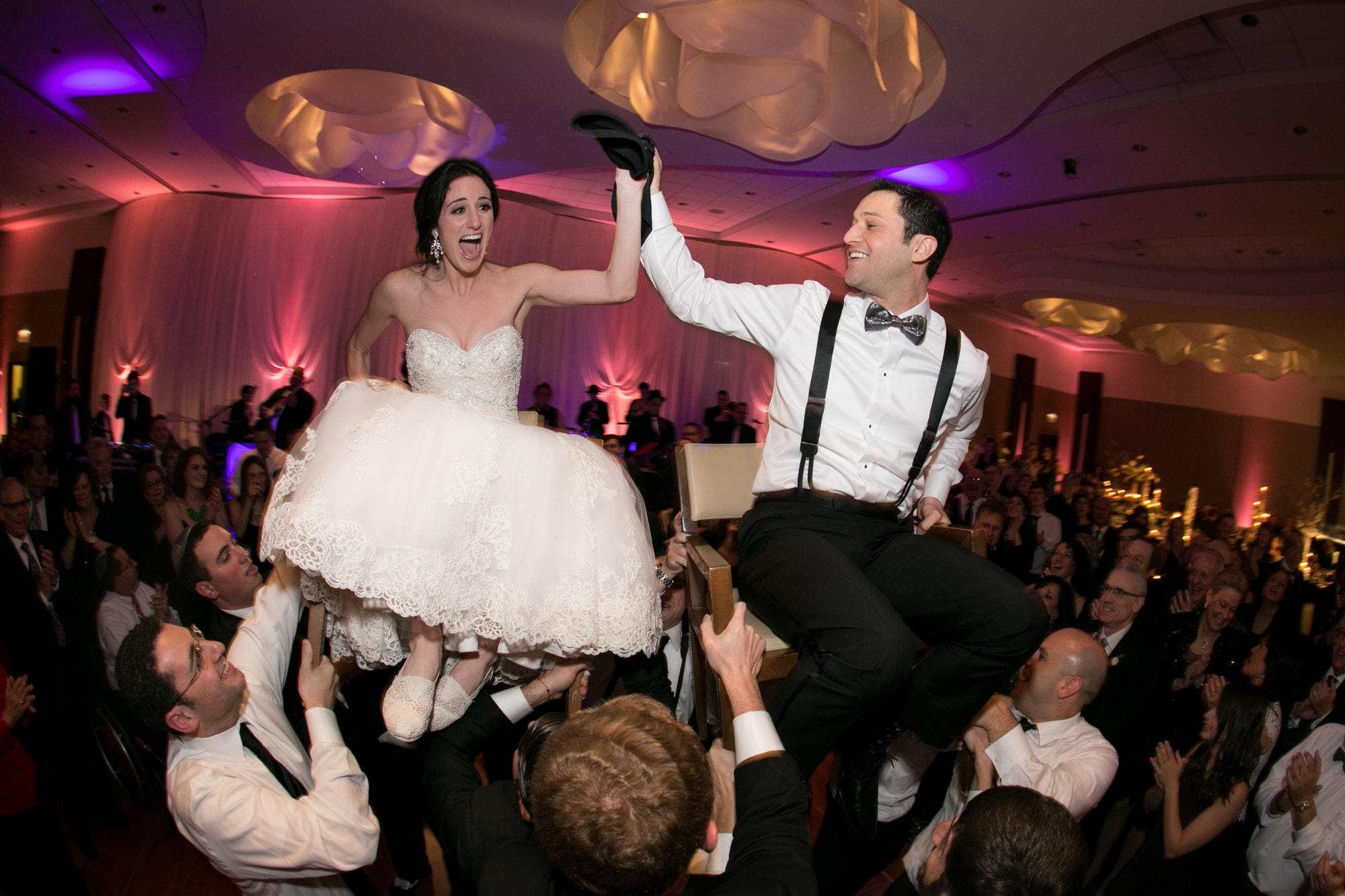 Wedding reception Hora