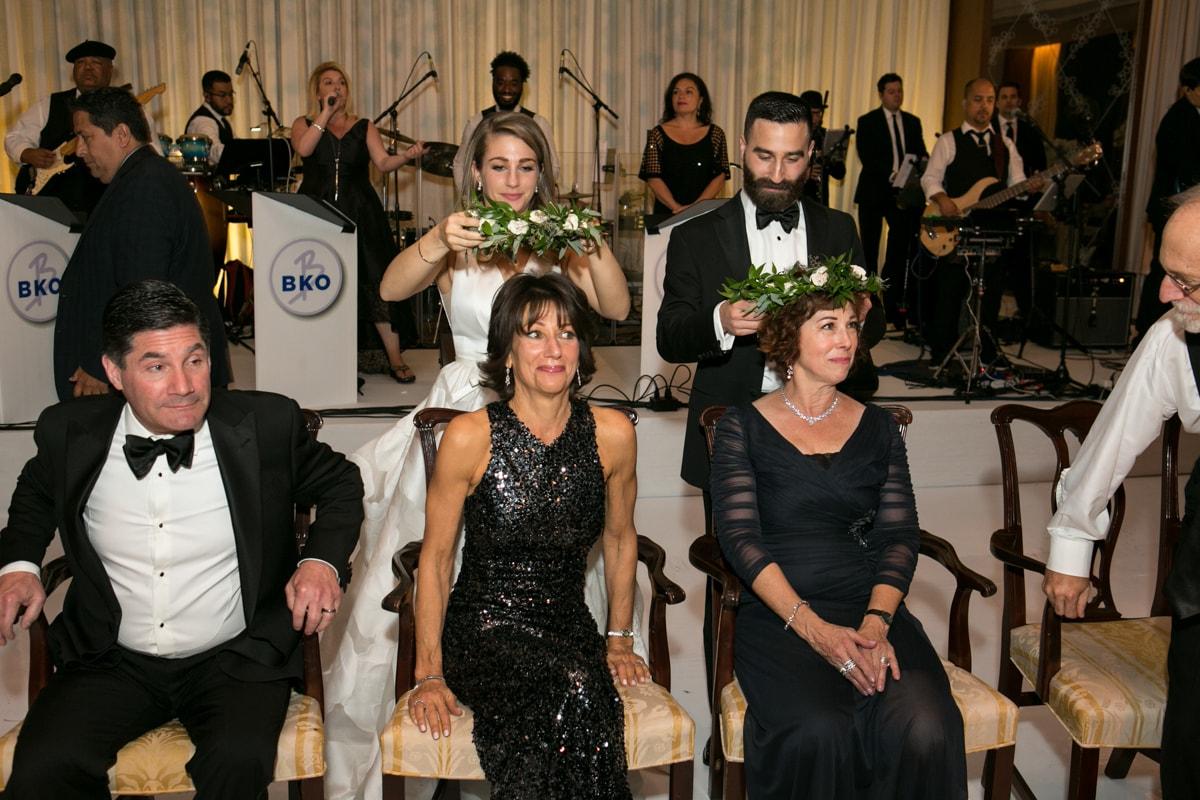 Krenzel Dance at wedding reception