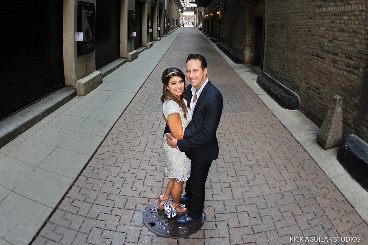 Small Wedding Portraits in Chicago