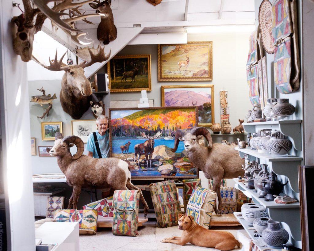 Don Crouch's Artist Studio
