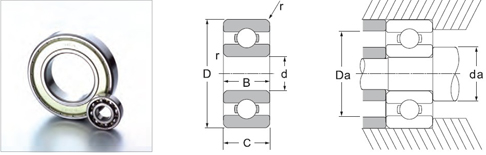 62 series bearings