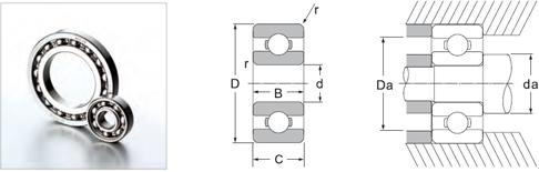 16000 and 6700 series bearings