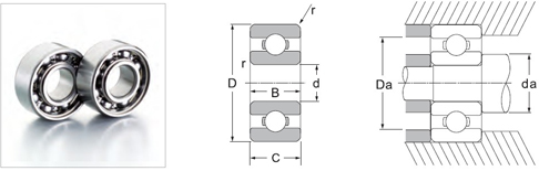 62200 and 62300 series Bearings