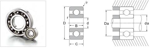 Inch R series Bearings
