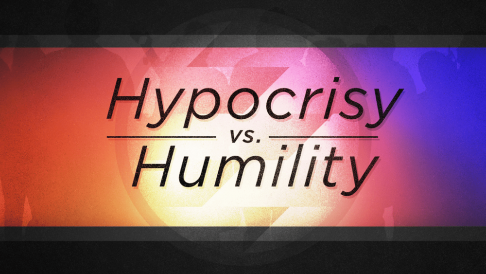 Hypocrisy vs Humility Image