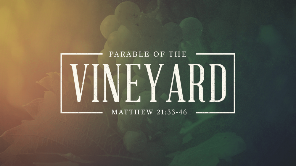 The Parable of the Vineyard Image