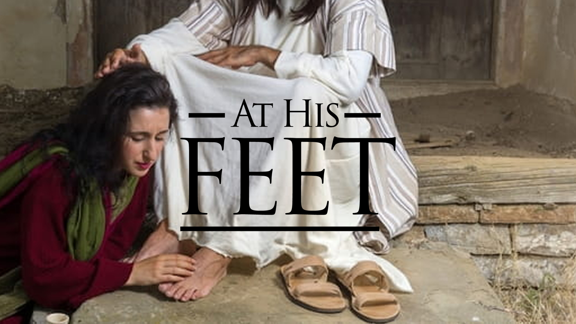 Lay Your Burdens at His Feet