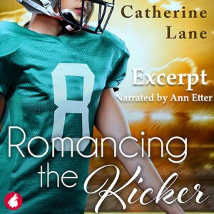 audio excerpt of the lesbian romance the novel Romancing the Kicker