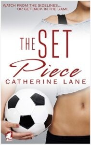 lesbian romance book The Set Piece