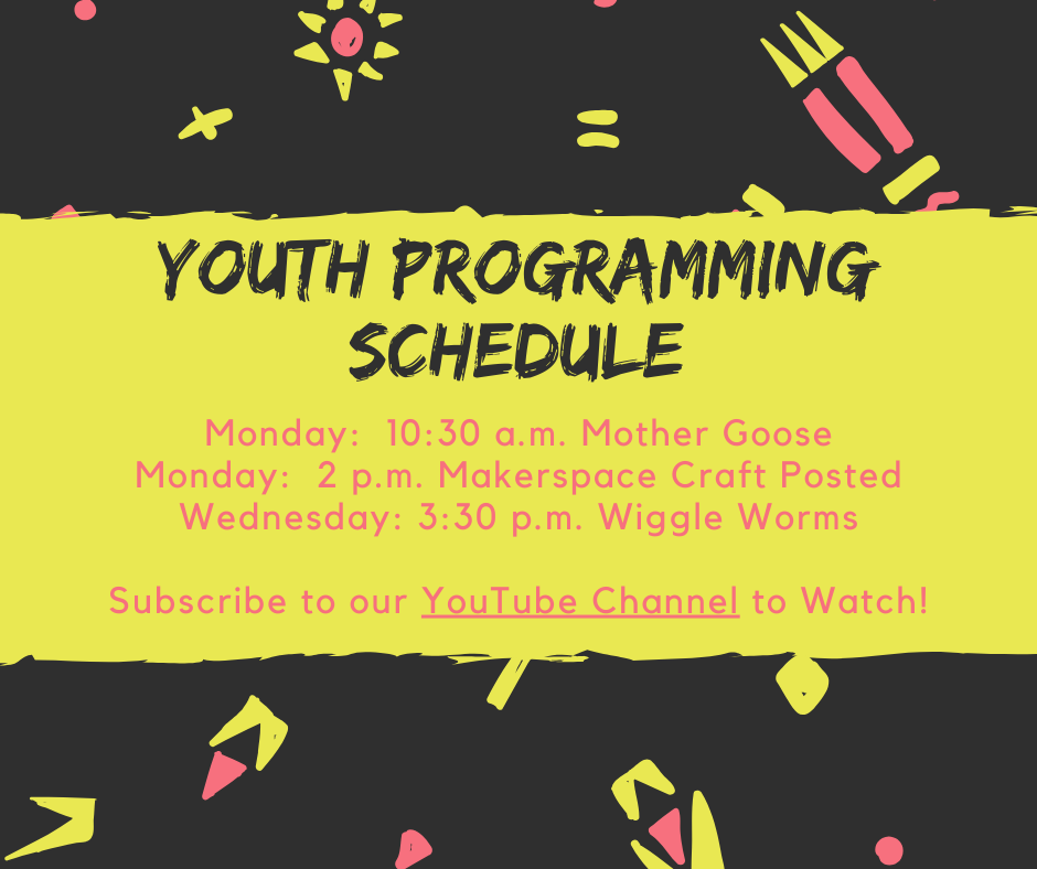Youth programming schedule