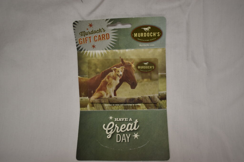 $25 Murdoch's Gift Card (there are two of these)