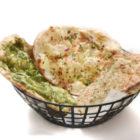 Basket on Variety of Naan