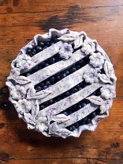 The Blueberriest Pie