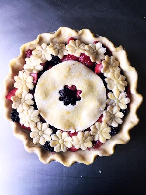 Strawberry Blackberry Pie