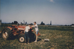 Two TeensAnd A Tractor