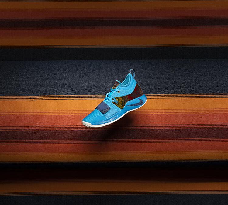 Nike SNKR App: PG2.5/Pendleton Crossover