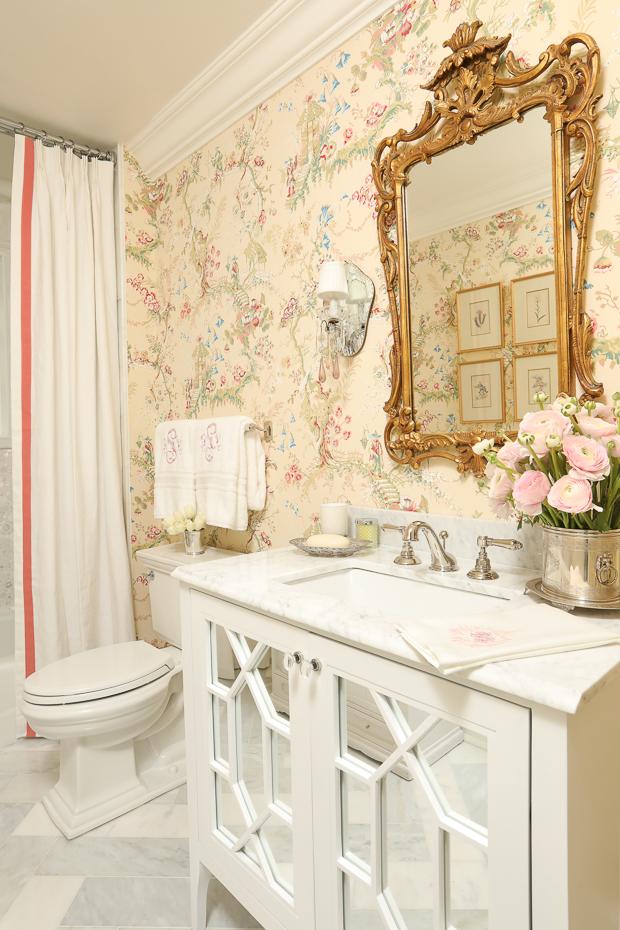 bathroom renovation One Room Challenge