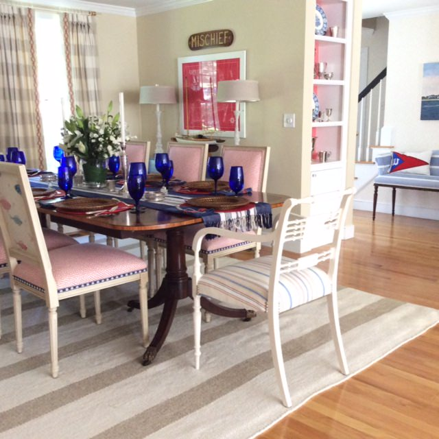 Beach Cottage Dining Room Interior Design Inspiration