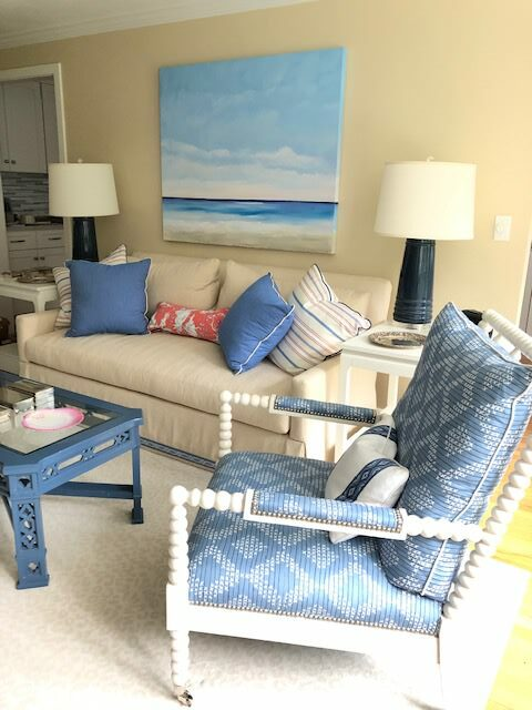 Beach Cottage Living Room  Interior Design Inspiration