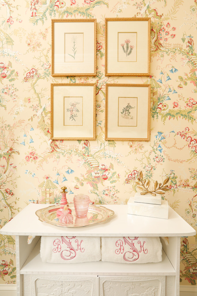 Chinoiserie Bathroom Renovation Interior Design Inspiration