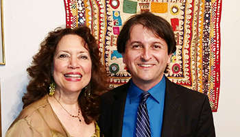 Tamir Hendelman and Jackie Ryan