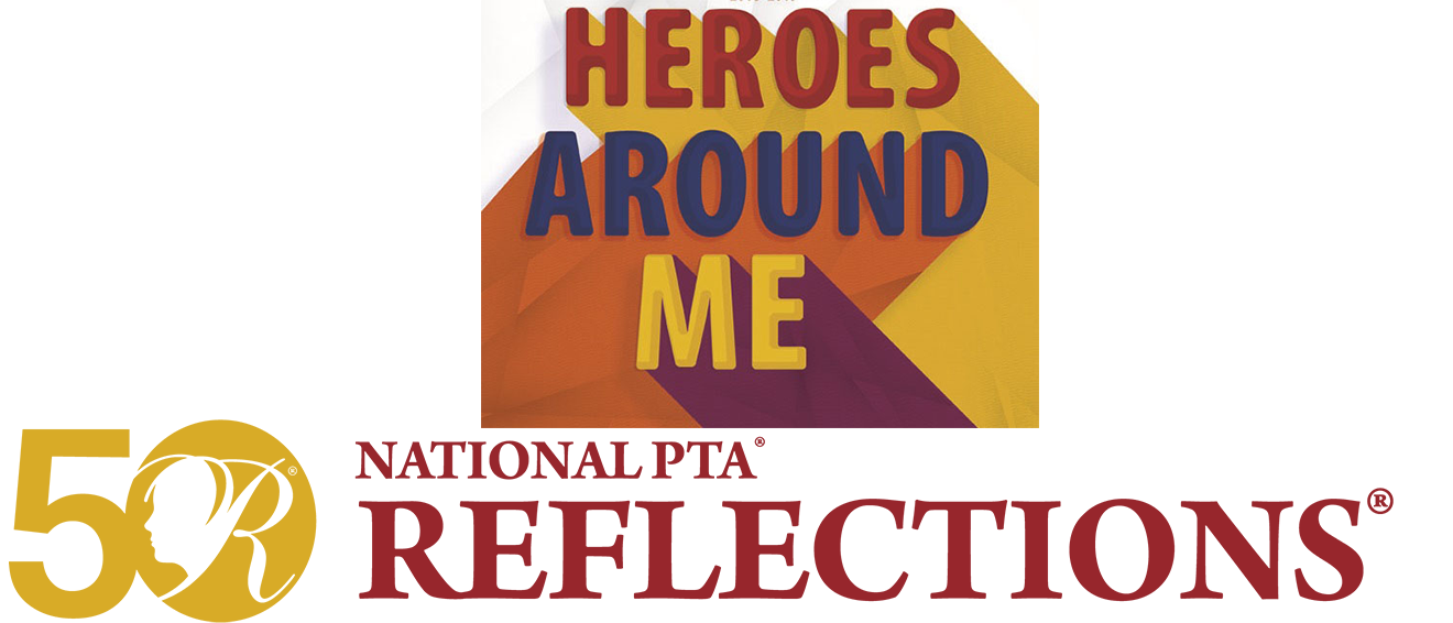 Reflections 2018-2019 Heroes Around Me Banner