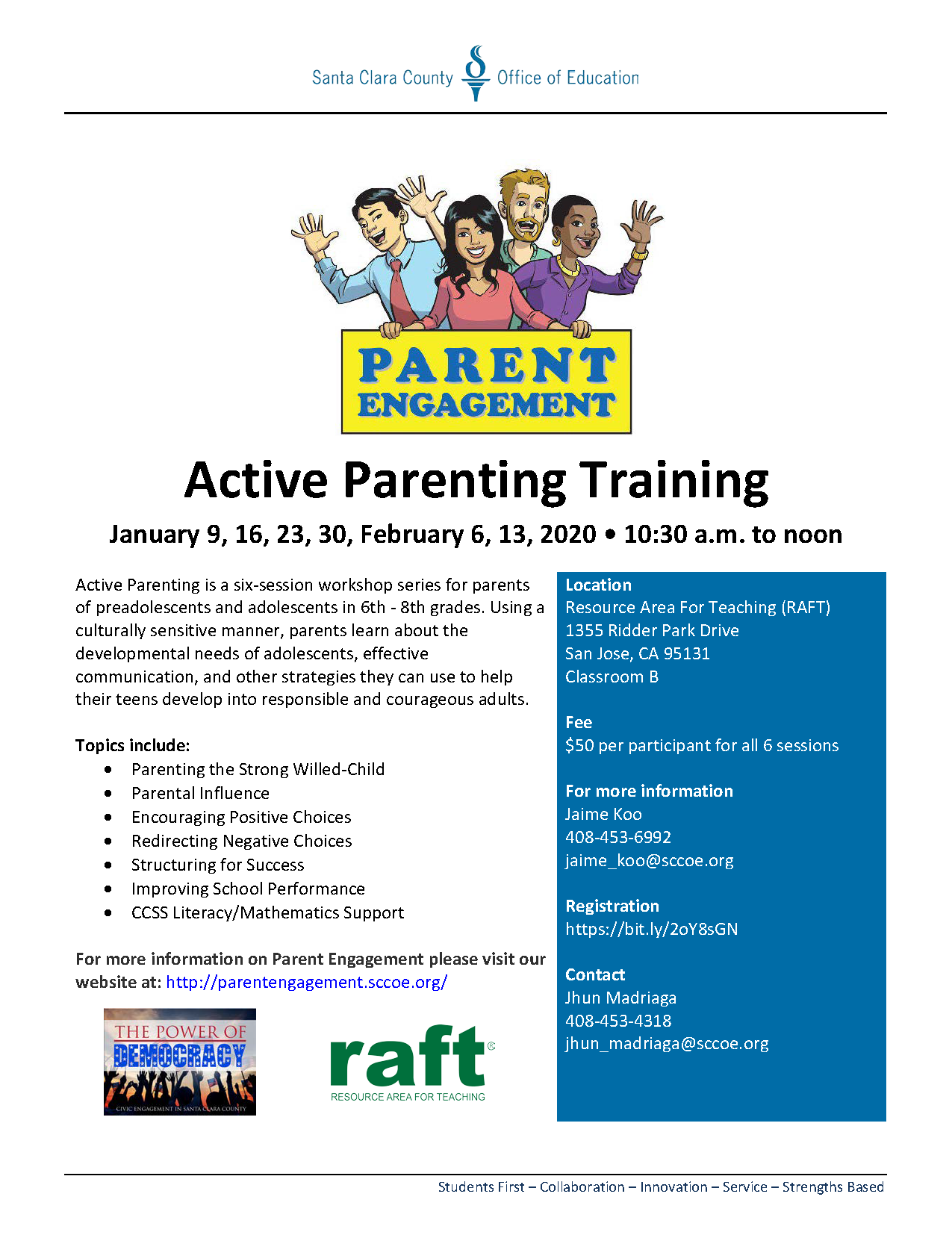 Active Parenting Training January 2020