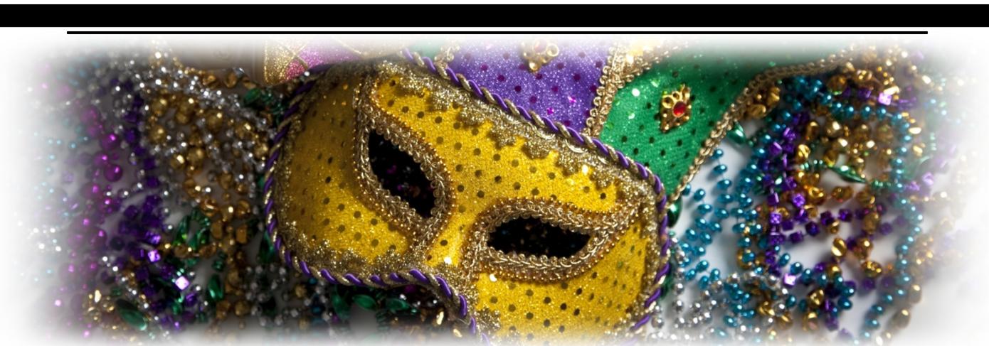 Mardi Gras Image Header