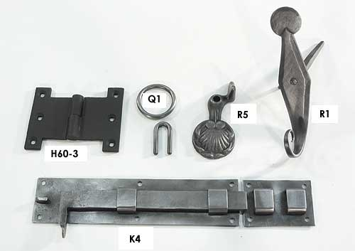 Shutter Hardware examples