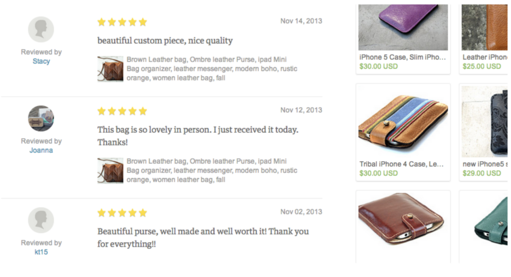 Etsy Selling Tips Client testimonials