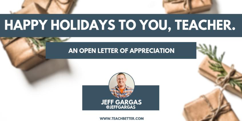 Happy Holidays to you, teacher (2)