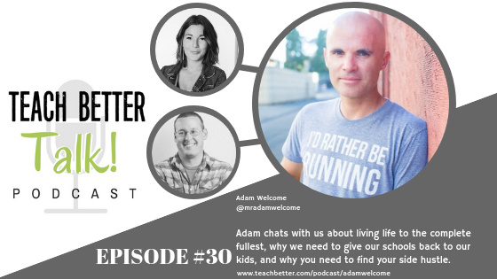 Podcast episode with Adam Welcome