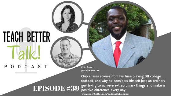Listen to episode 39 of the Teach Better Talk Podcast
