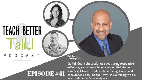 Listen to episode 41 of the Teach Better Talk Podcast