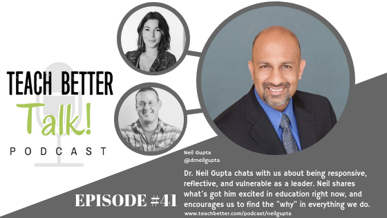 Listen to episode 41 of the Teach Better Talk Podcast