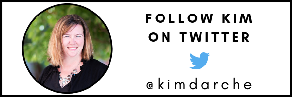CLICK HERE TO FOLLOW KIM ON TWITTER