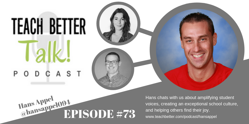 Image for Teach Better Talk Podcast Episode #73