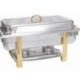Stainless With Gold Trim 8 Qt - 8qt Rectangle