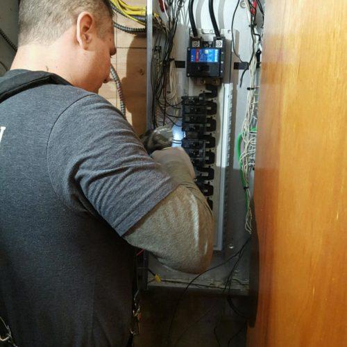 electrician service repair electric panel circuit breaker