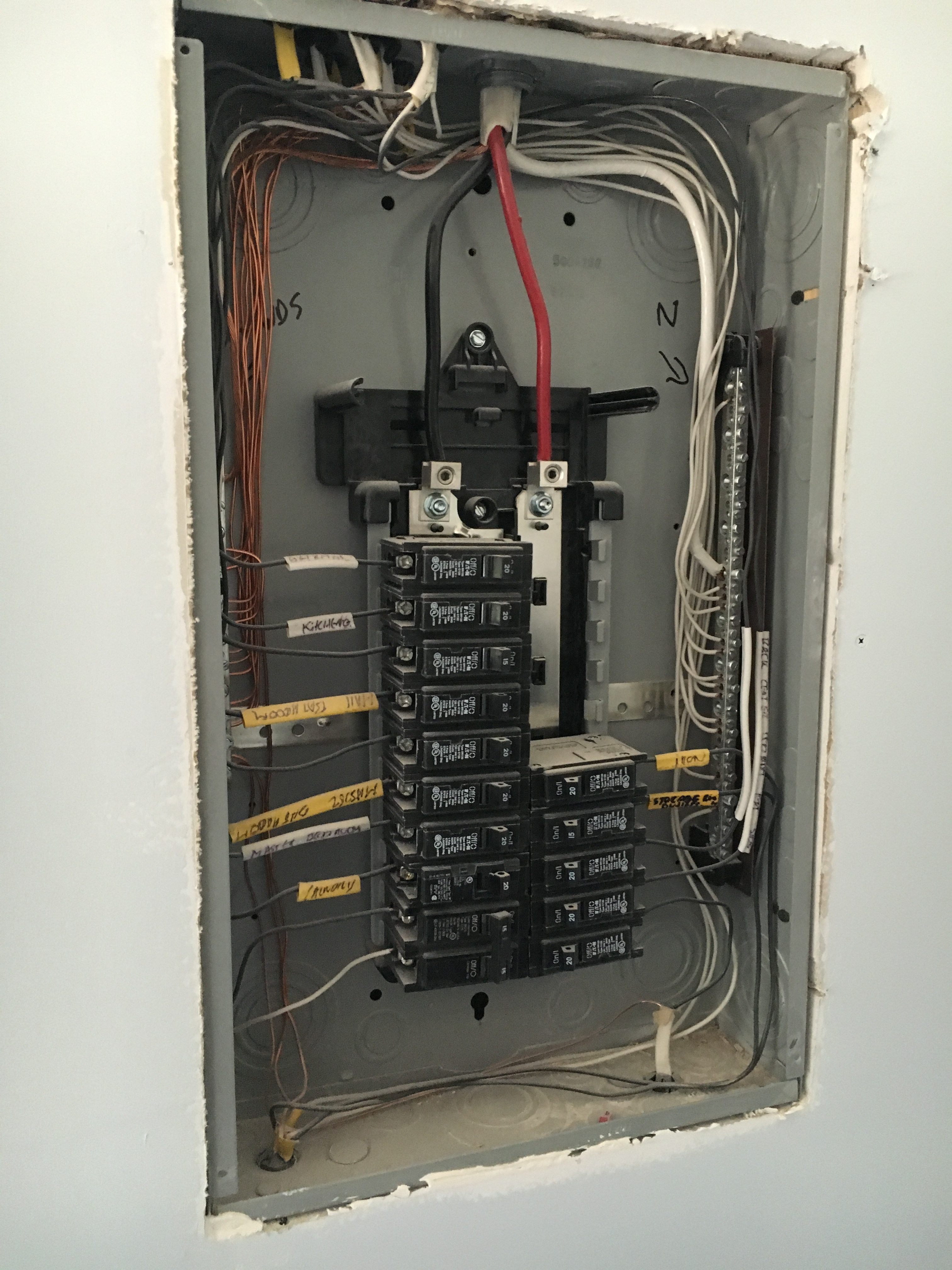 outdoor electric panel