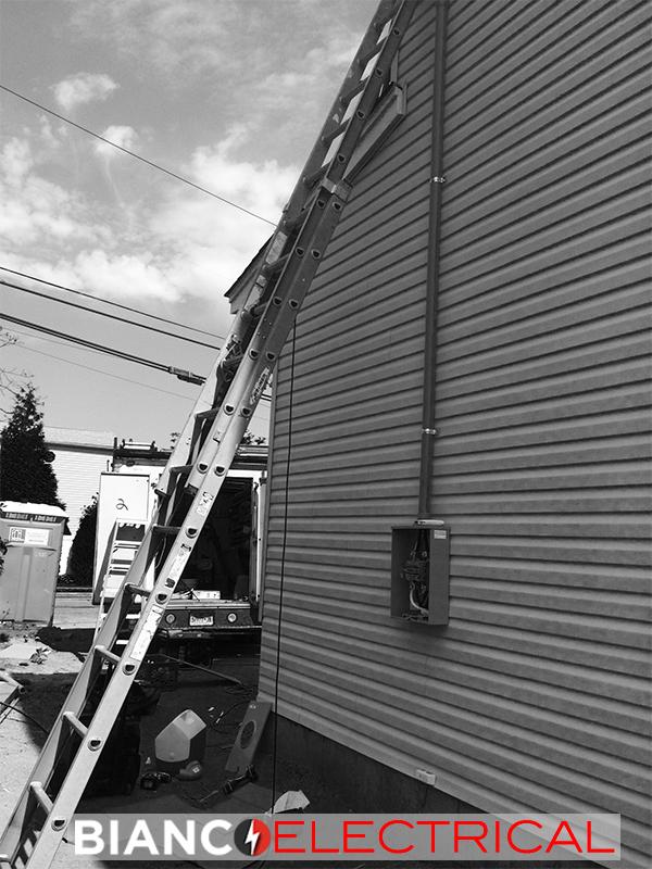 outdoor meter pan repair