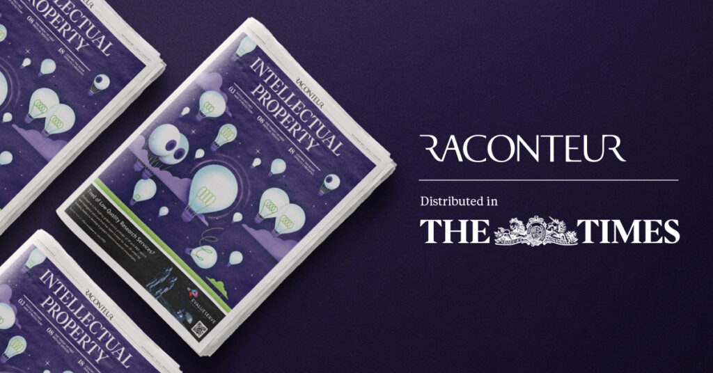 Raconteur IP Report 2021 The Times