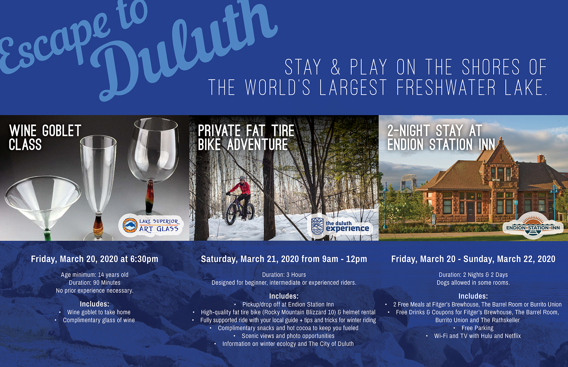 Escape to Duluth Promotion WEB