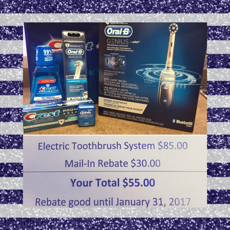 Great January, Toothbrush Promotion!