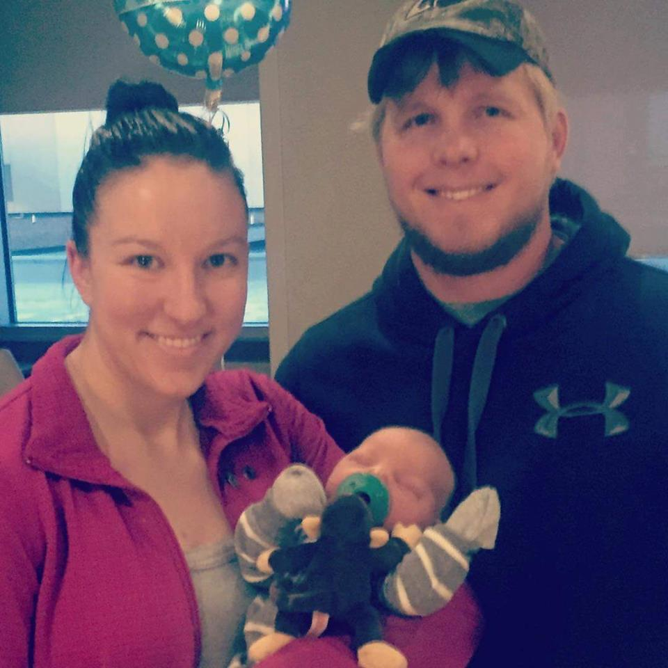 Congratulations to Amanda and Kyle on the birth of their son Knox!