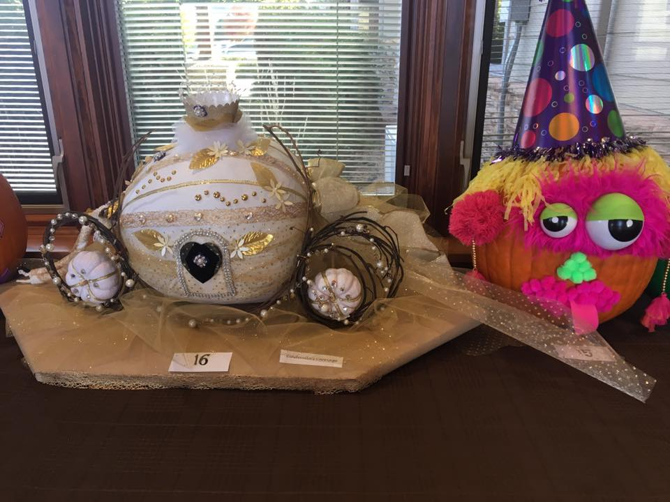 Winners of the Pumpkin Decorating Contest!