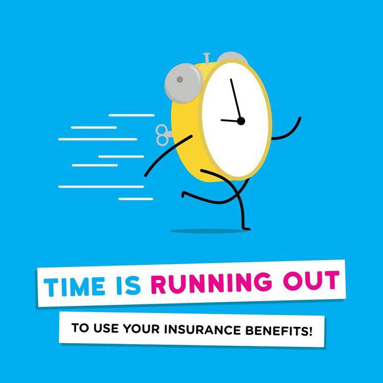 Get your Insurance Benefits before the New Year!